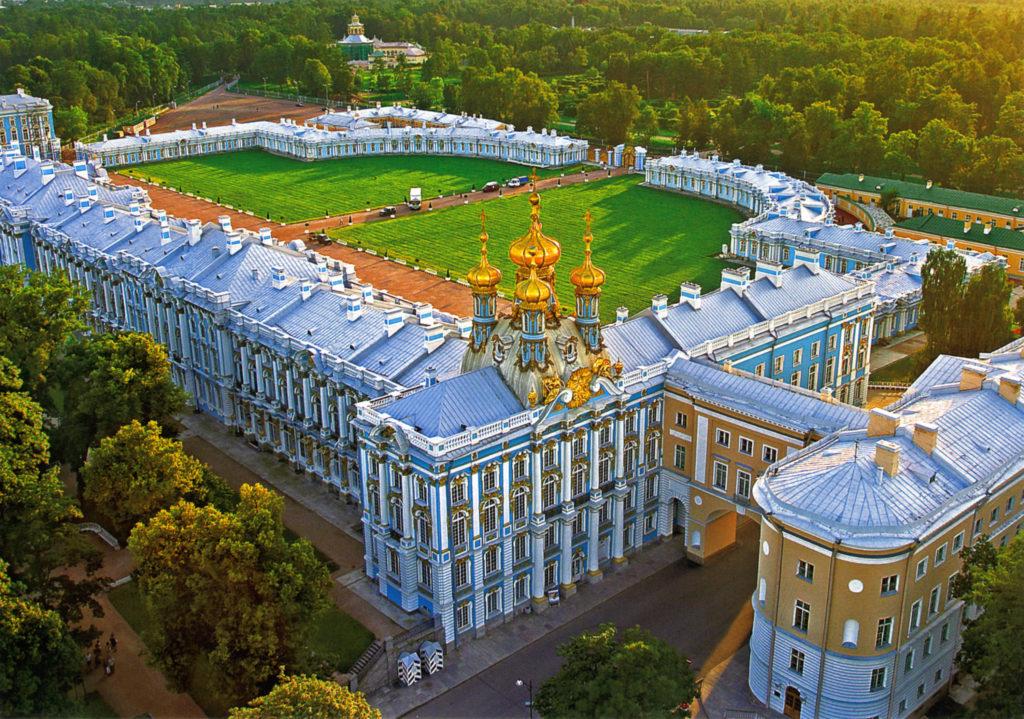 екатерин дворец в царском селе